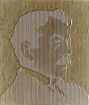 Markus raetz robert walser 1978 wellkarton kunsthaus zürich